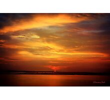 Sunset ~ Dramatic and Romantic Photographic Print