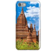 Bagan Pagodas4, Burma. iPhone Case/Skin