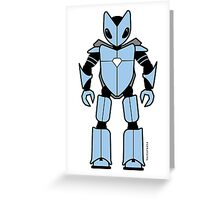 Vectorbot 005 Greeting Card