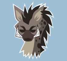 Cartoon Hyena  Baby Tee