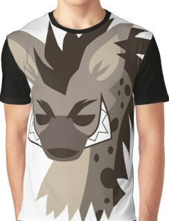 Cartoon Hyena  Graphic T-Shirt