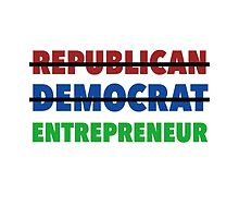 Republican Democrat Entrepreneur by typeo