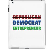 Republican Democrat Entrepreneur iPad Case/Skin