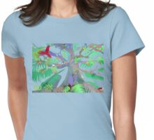 Eight Branches Over Ocho Rios Womens Fitted T-Shirt