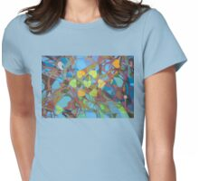Seven Cottonwoods of the Bosque Womens Fitted T-Shirt