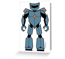 Vectorbot 003 Greeting Card