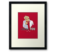 I Want You -- To Catch Them All! Framed Print
