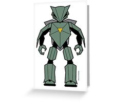 Vectorbot 001 Greeting Card