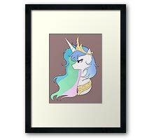 My Little Pony: Princess Celestia Framed Print