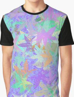 Pastel Foliage Graphic T-Shirt