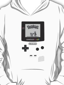 Pokemon Red on GameBoyColor by AronGilli T-Shirt
