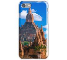 Bagan Pagodas5, Burma. iPhone Case/Skin