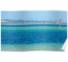 JUST PHOTOS ~ SCENES & SCENERY ~ Parallel Lines with Exclamation Marks by tasmanianartist Poster
