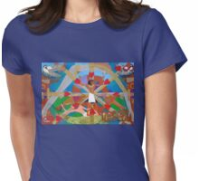Eight of Infinite Hearts Womens Fitted T-Shirt