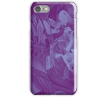 Within my heart a flame of desires, colorful abstract painting with fantasy girls. iPhone Case/Skin