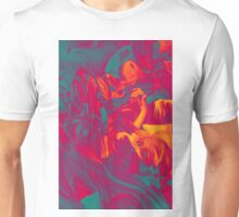 Within my heart a flame of desires, 120-80cm, 2016, oil on canvas Unisex T-Shirt