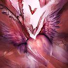 Flight Of The Heart - Rose by Carol  Cavalaris