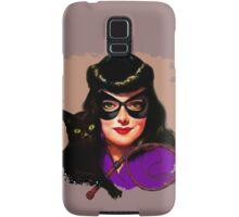 Vintage Catwoman Samsung Galaxy Case/Skin