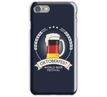 Germany Oktoberfest Glass iPhone Case/Skin