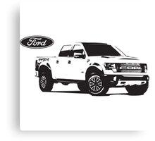 Ford Raptor Canvas Print