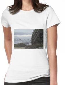 Kings Beach, Sunshine Coast Womens Fitted T-Shirt