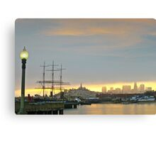 San Francisco Morning Cityscape Canvas Print
