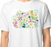 Watercolor Florals Classic T-Shirt