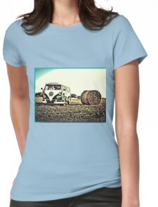 Last of the summer Womens Fitted T-Shirt