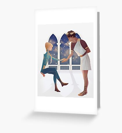 Captive Prince Greeting Card