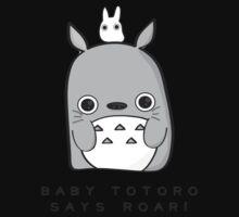 Baby Totoro says ROAR Kids Tee