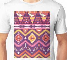 Pink Bird Aztec Unisex T-Shirt