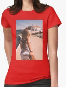 Follow Me Womens Fitted T-Shirt
