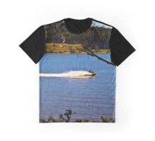 Jet boat at Lake Narracan Graphic T-Shirt