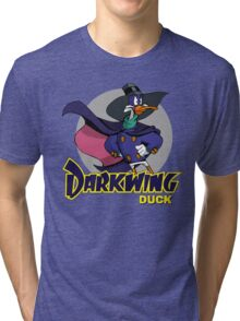 Don't Mess With .. Darkwing Duck !! Tri-blend T-Shirt
