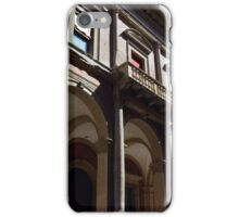 Building from Bologna with columns and arches iPhone Case/Skin