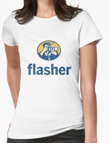 Flasher II Womens Fitted T-Shirt