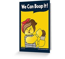 We Can Boop It! Greeting Card