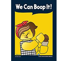 We Can Boop It! Photographic Print