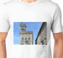 Town hall building from San Marino Unisex T-Shirt