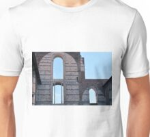 Antic monument in Siena with arches on wall Unisex T-Shirt