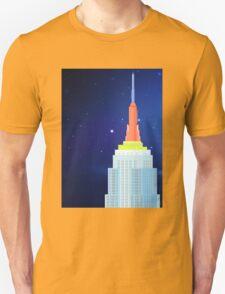 Empire State Building New York Illustration Unisex T-Shirt