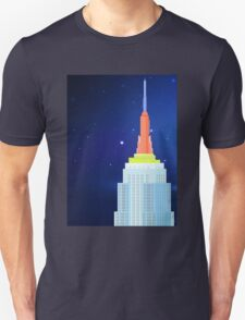 Empire State Building New York Illustration T-Shirt
