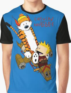 Calvin And Hobbes : Forever Young Graphic T-Shirt