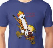 Calvin And Hobbes : Forever Young Unisex T-Shirt
