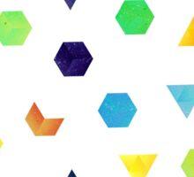 Random Geometry Sticker