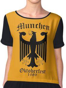 Munchen Oktoberfest Eagle Chiffon Top