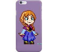 Frozen Ana - Pixel Art iPhone Case/Skin