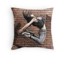 Cells about to separate Throw Pillow