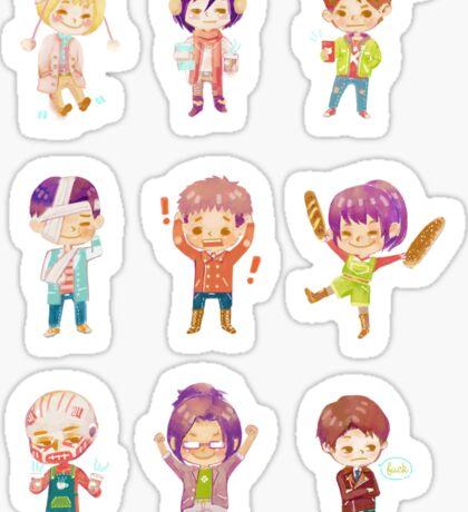shingeki no kyojin Sticker