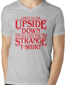 I Went to the Upside Down Mens V-Neck T-Shirt